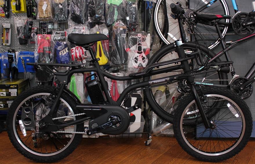 Panasonicのbmxスタイル電動自転車ezが入荷いたしました